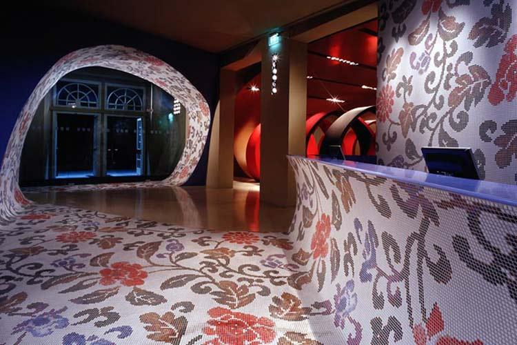 Dekorasyonda mozaik ağlar