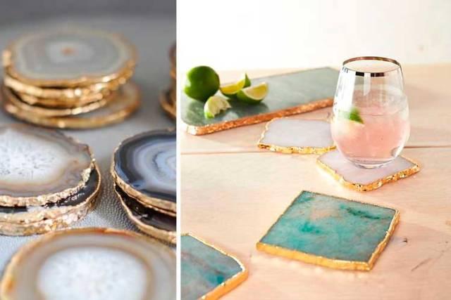 Trendler 2019 - Mücevher ve minerallerle nasıl dekore edilir
