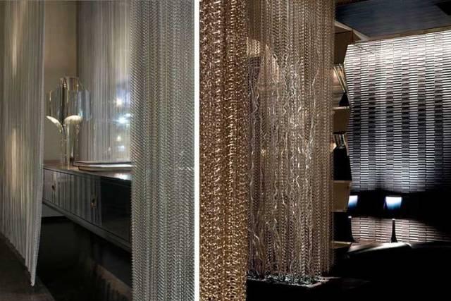 Metal zincirlerle nasıl dekore edilir