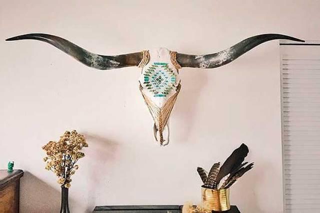 Öküz kafaları ile nasıl dekore edilir