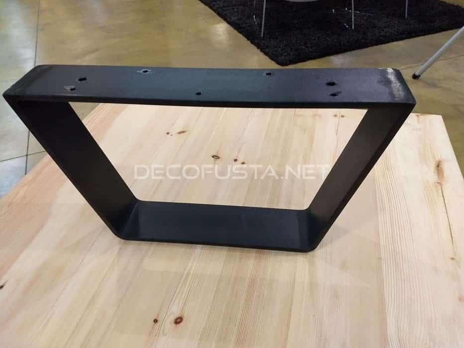 Mesas con patas de hierro  Decofusta