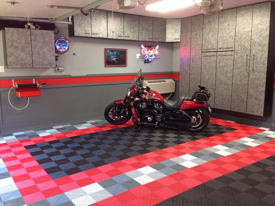 bodenplatten fur motorrad garagenboden