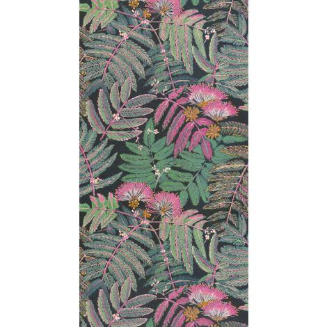 Décor papier peint ALBIZIA Vert forêt