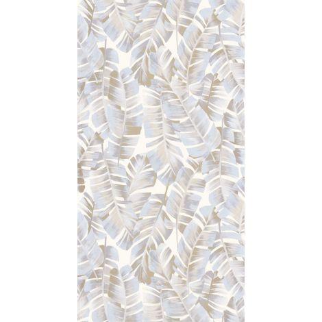 Décor papier peint Folium beige lin