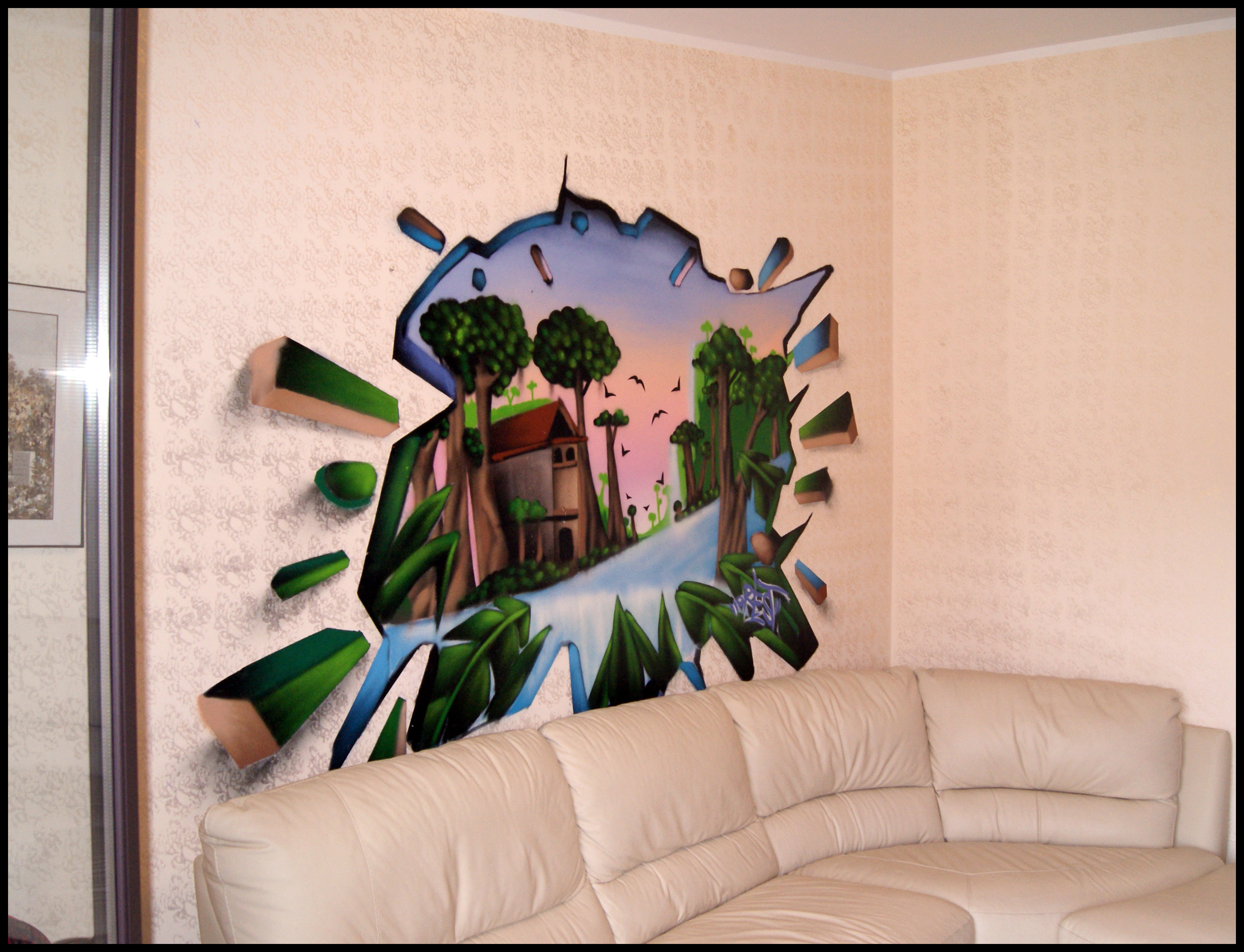 D cos particuliers salons et exterieurs decograffik deco graff bureaux ent - Prix decorateur interieur ...