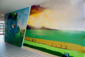 fresque murale chimie