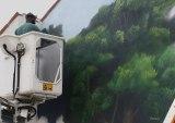 fresque murale grand format