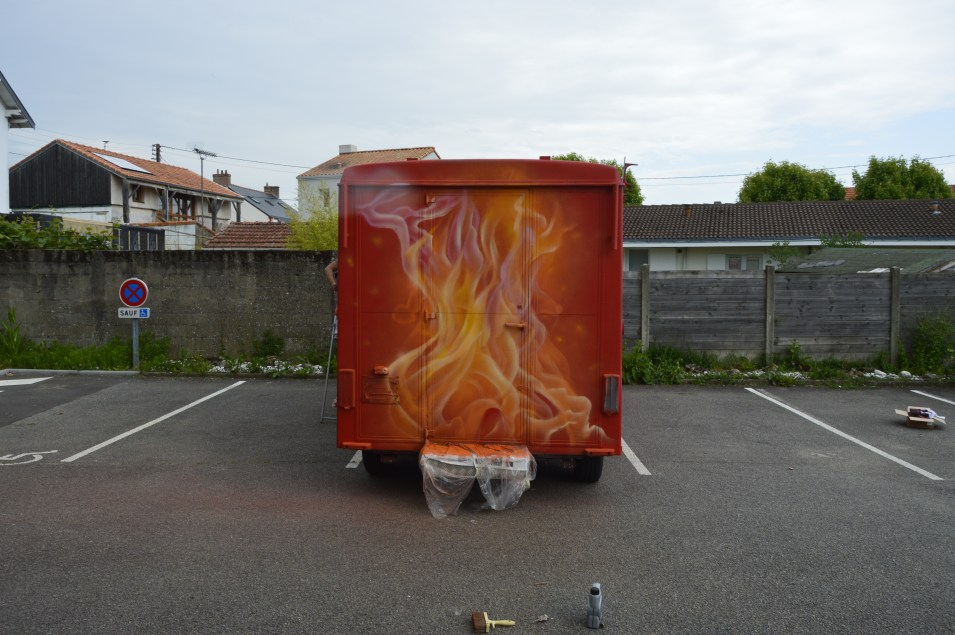 food truck deco graff