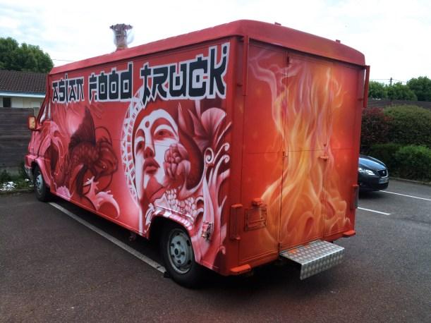 food truck deco graff originale