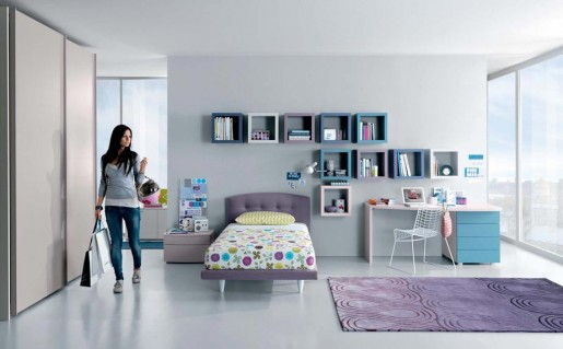 grey dream interior design ideas for small teenage girls room