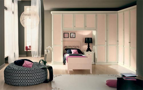 classic interior design ideas for small teenage girls room