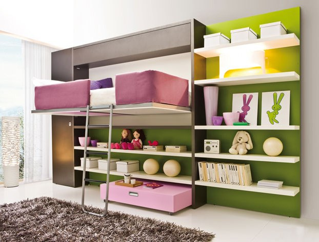2 smart ideas for small teenage girls room