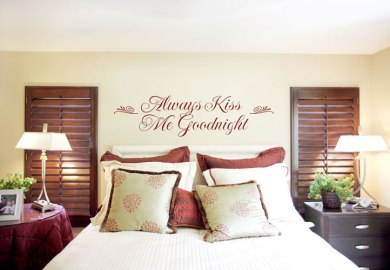 Decorate Bedroom Walls Cheap