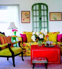 50 Dream Interior Design Ideas for Colorful Living Rooms ...