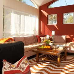 Orange Living Room Designs Swivel Chairs 100 Best Red Rooms Interior Design Ideas 59