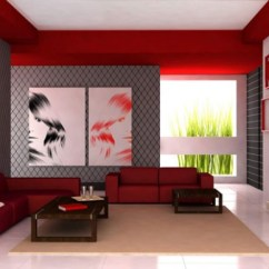 Living Room Ideas Grey And Red What Size Of Rug For 100 Best Rooms Interior Design 2