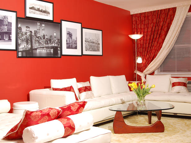 living room decor red light pink walls 100 best rooms interior design ideas 9