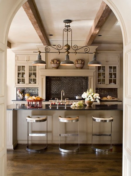 rustic french country kitchen backsplash Attractive Country Kitchen Designs - Ideas That Inspire You