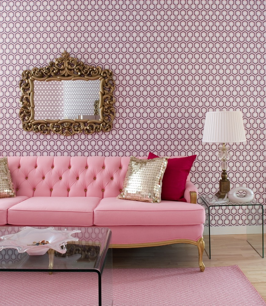 Pink Interior Design Great Small Living Room Designs By Colin & Justin - Decoholic