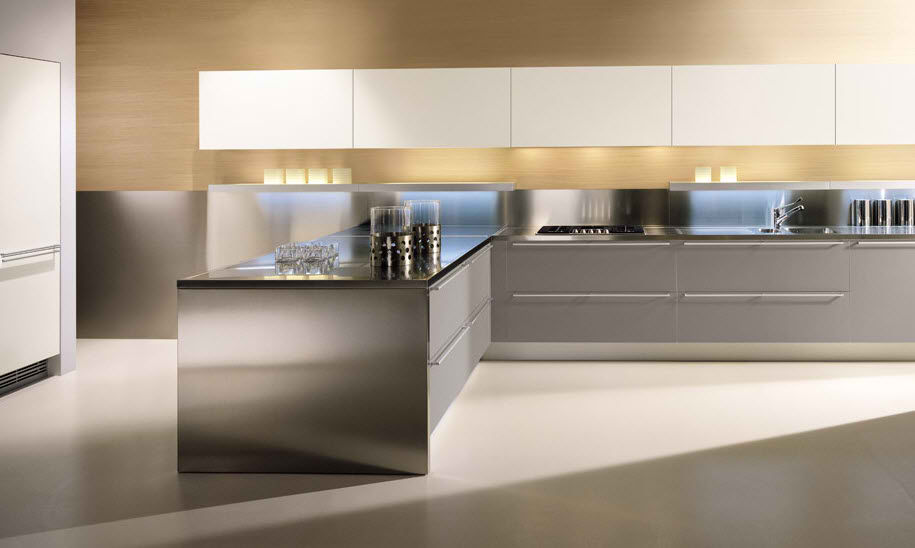 Modern Kitchen Design Aluminium