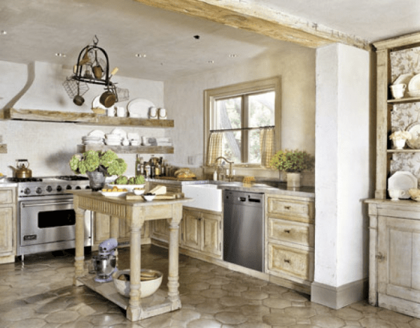 rustic farmhouse country kitchen Attractive Country Kitchen Designs - Ideas That Inspire You