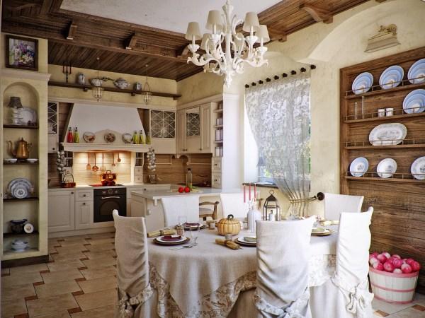 Attractive Country Kitchen Design - Ideas Inspire
