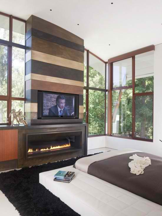 20 Amazing TV Above Fireplace Design Ideas