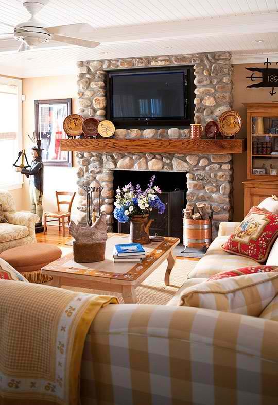 20 Amazing TV Above Fireplace Design Ideas Decoholic
