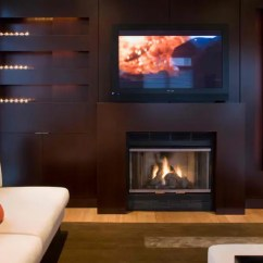 Decorating A Living Room With Fireplace And Tv Cushions For Furniture 20 Amazing Above Design Ideas Decoholic Wood