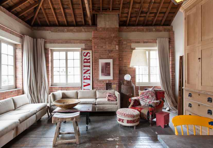 Atmospheric Loft in London  Decoholic