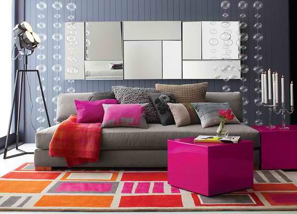 fuschia sofa unique sets designs 26 amazing living room color schemes - decoholic
