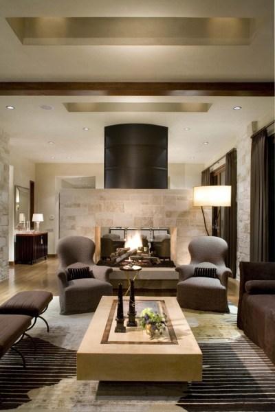 contemporary living room design 16 Fabulous Earth Tones Living Room Designs - Decoholic