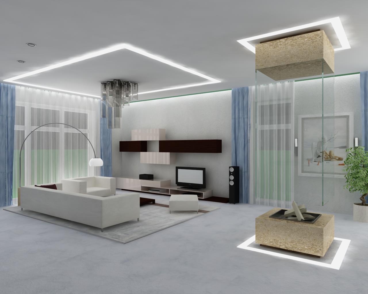 Minimalism: 34 Great Living Room Designs