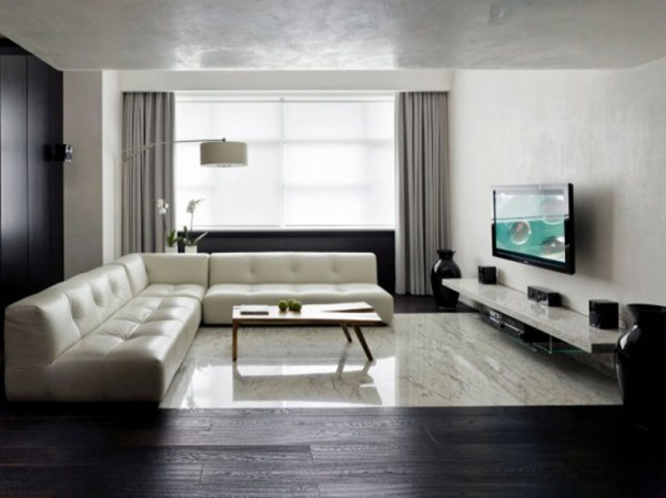 minimalist living room interior Minimalism: 34 Great Living Room Designs - Decoholic