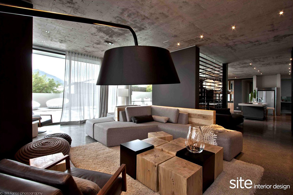 Dramatic Modern House by Site Interior Design - Decoholic