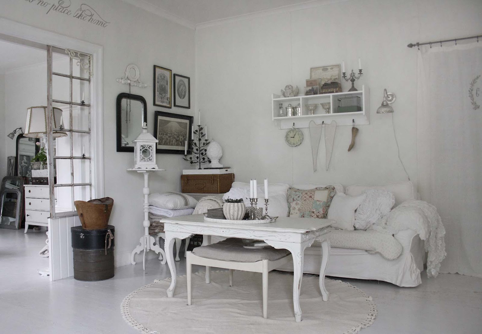 shabby chic small living room ideas modern wallpapers for rooms 37 dream designs decoholic 27 via girls vintage white chabby interior