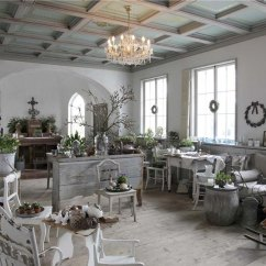 Shabby Chic Living Rooms Pictures Blue And Yellow Room Images 37 Dream Designs Decoholic 26 Ideas