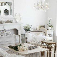 Shabby Chic Living Room Decorating Ideas Mantel 37 Dream Designs Decoholic 30