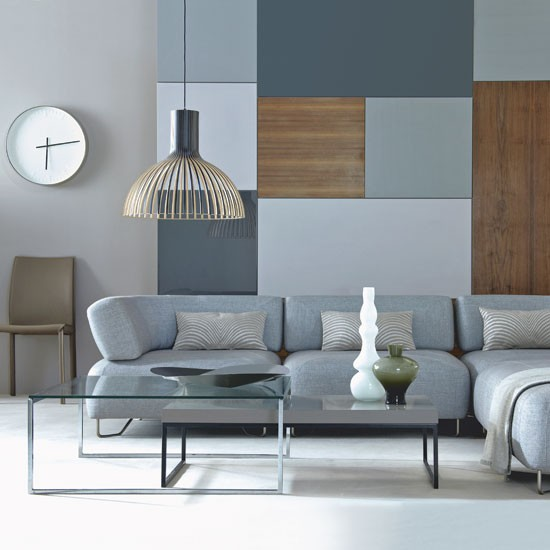 gray blue living room small computer desk for 69 fabulous designs to inspire you decoholic 21