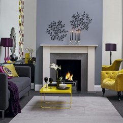 Grey And Yellow Living Room Decorating Ideas Fancy Lights For 69 Fabulous Gray Designs To Inspire You Decoholic 28