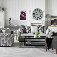 color schemes with gray on Pinterest | Gray Living Rooms ...