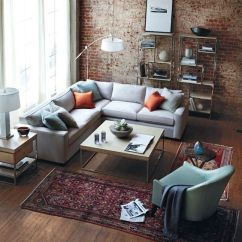 Orange Living Room Decorating Ideas Wood Surround Fireplace 69 Fabulous Gray Designs To Inspire You Decoholic With Pillows