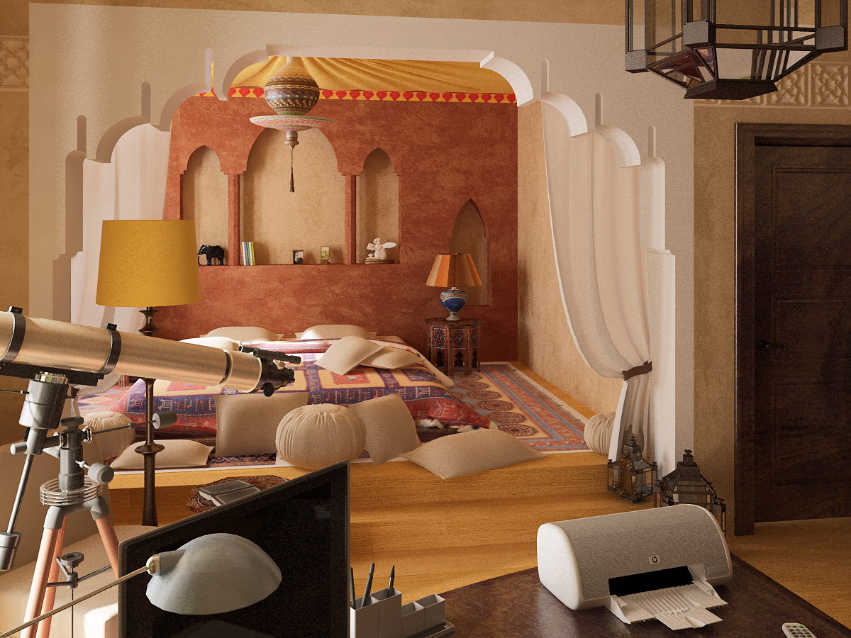 hanging chair qatar kitchen high table and chairs 40 moroccan themed bedroom decorating ideas decoholic