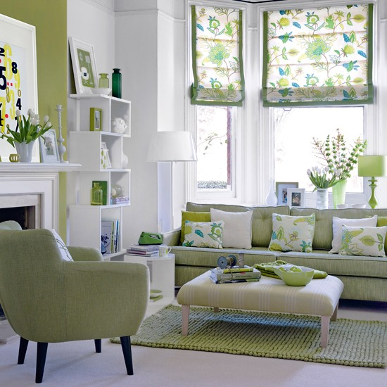 26 Relaxing Green Living Room Ideas  Decoholic