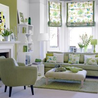 26 Relaxing Green Living Room Ideas - Decoholic