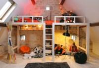 Awesome Attic Loft Kids' Bedroom - Decoholic