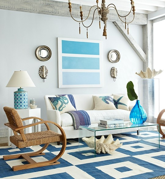 beach living room idea furnitures pictures 14 great themed ideas decoholic 2