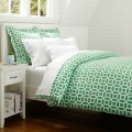 Kelly green downtown purple reversible twin xl college comforter