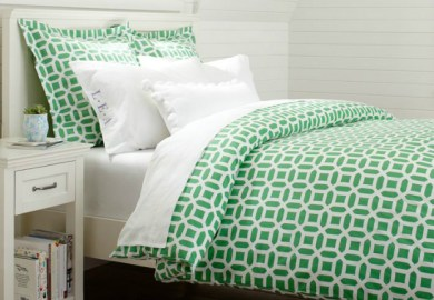 Kelly Green Bedding