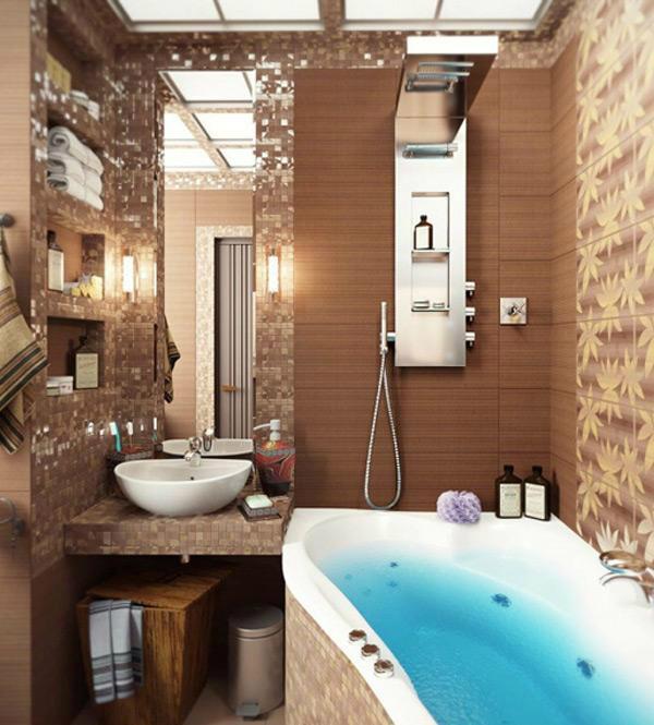 40 stylish small bathroom